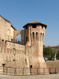 castellarano城堡s塔 免版税库存照片