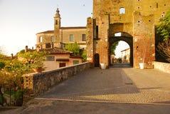 Castellaro Lagusello, Mantua, Italia Fotografía de archivo
