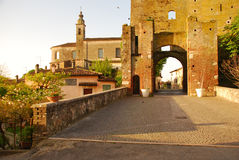 Castellaro Lagusello, Mantua, Italy Stock Photography