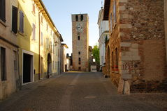 Castellaro Lagusello, Mantua, Italy Stock Images
