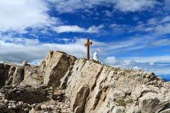 Castellazzo peak Royalty Free Stock Photography