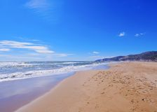 Castelldefels Beach Royalty Free Stock Images