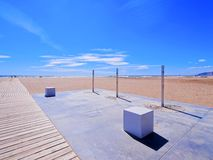 Castelldefels Beach Stock Image