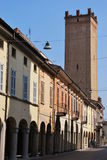 Castelleone Dorf Lizenzfreies Stockfoto