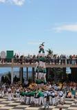 Castellers στη Βαρκελώνη 3 Στοκ εικόνα με δικαίωμα ελεύθερης χρήσης