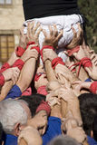 Castellers Stock Photos