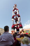 Castellers Royalty Free Stock Photos