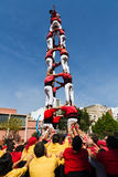 Castellers 4*7 Stock Photos