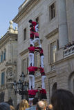 castellers Images stock