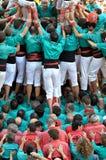 Castellers de Vilafranca Royalty Free Stock Photos