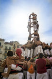 Castellers Royalty Free Stock Image