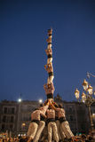 Castellers Stock Images