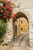 The Castellet village. Le Castellet a medieval village in Provence Royalty Free Stock Photos