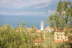 Castelletto at Lake Garda Stock Photos