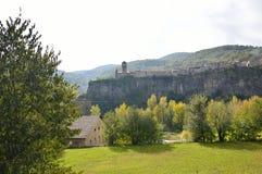 Castellfollit de Λα Roca Στοκ Εικόνα