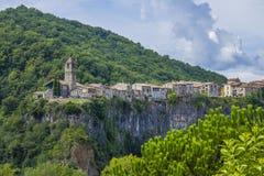 Castellfollit de Λα Roca, Girona, Ισπανία στοκ εικόνες με δικαίωμα ελεύθερης χρήσης