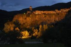 Castellfollit de la Roca Lizenzfreies Stockbild