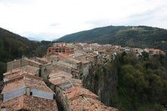 Castellfollit DE La Roca Stock Fotografie