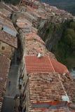 Castellfollit de la Roca Arkivbilder