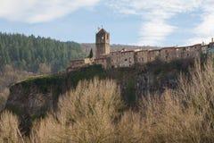 Castellfollit de la Roca vaggar på Royaltyfri Bild