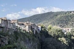 Castellfollit De Los angeles Roca Zdjęcie Royalty Free