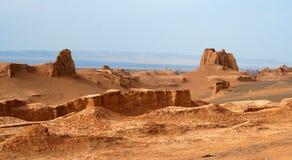 Castelli del deserto Immagini Stock Libere da Diritti