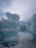Castelli del ghiaccio Fotografia Stock