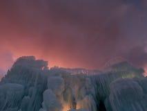 Castelli del ghiaccio Fotografia Stock Libera da Diritti