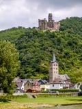 Castelli della Renania Immagine Stock Libera da Diritti