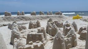 Castelli della sabbia Fotografie Stock Libere da Diritti
