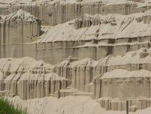 Castelli della sabbia Immagini Stock
