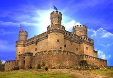 Castelli della Spagna Fotografia Stock