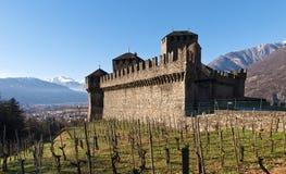 Castelli della Svizzera, Bellinzona Fotografia Stock