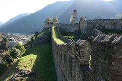 Castelli di Belinzona Immagine Stock