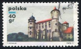 Castelli polacchi fotografie stock