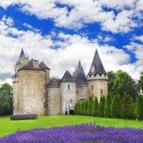 castelli regione della Francia, la Dordogna Immagini Stock Libere da Diritti