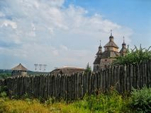 Castelli in Ucraina Immagini Stock Libere da Diritti