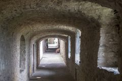 Castellina σε Chianti, μεσαιωνική πόλη της Τοσκάνης στοκ εικόνα