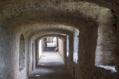 Castellina в Chianti, средневековом городке Тосканы Стоковое Изображение
