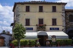 Castellina in Chianti. Historical center of Castellina in Chianti, Tuscany, Italy, Europe royalty free stock photos