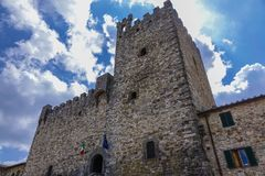 Castellina dans Chianti image libre de droits
