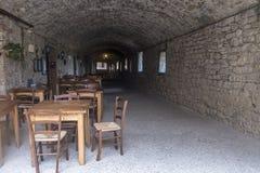 Castellina dans le chianti, ville médiévale de la Toscane photos libres de droits