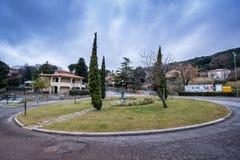 Castellina Marittima, Пиза, Тоскана - Италия стоковые фотографии rf