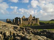 Castello 14 di Dunluce Immagini Stock Libere da Diritti