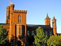 Castello 3 di Smithsonian - Washington, DC Fotografie Stock