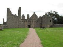 Castello Aberdeenshire Scozia Regno Unito di Tolquhon Fotografie Stock Libere da Diritti