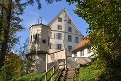 Castello Achberg, Germania immagini stock libere da diritti