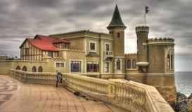 Castello al mare Immagine Stock