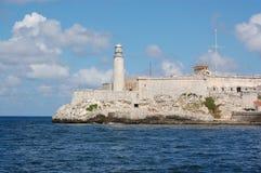 Castello al porto di Avana Immagine Stock Libera da Diritti
