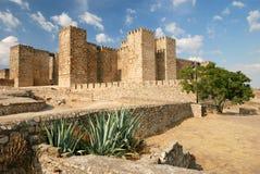 Castello (Alcazaba) a Trujillo Fotografie Stock